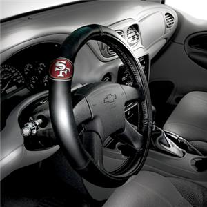 Northwest NFL 49ers Steering Wheel Covers