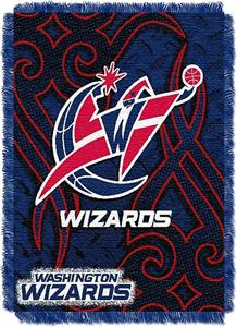 Northwest NBA Washington Wizards 48x60 Woven Throw