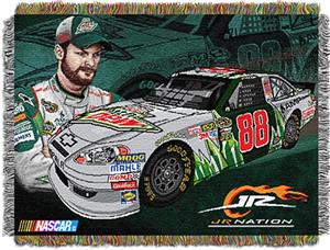 "Northwest NASCAR Dale Earnhardt Jr. 48""x60"" Throw"