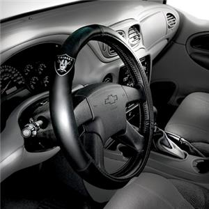 Northwest NFL Oakland Raiders Steering Wheel Cover