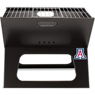 Picnic Time University of Arizona Charcoal X-Grill
