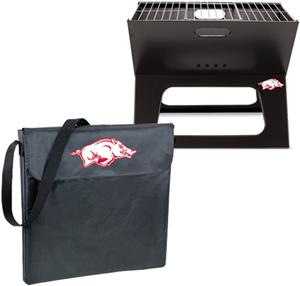 Picnic Time University Arkansas Charcoal X-Grill