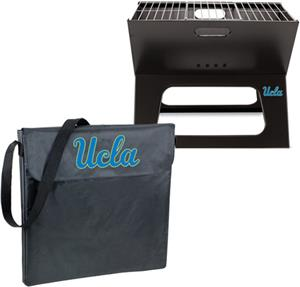 Picnic Time UCLA Bruins Charcoal X-Grill with Tote