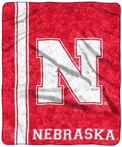 Northwest NCAA Nebraska Jersey Sherpa Throw