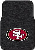Northwest NFL San Francisco 49ers Car Mats