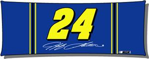 "Northwest NASCAR Jeff Gordon 19""x54"" Body Pillow"