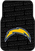 Northwest NFL San Diego Chargers Car Mats