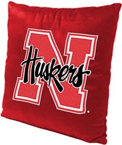 Northwest NCAA University of Nebraska Plush Pillow