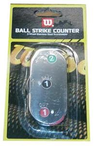Wilson 3 Wheel Umpire Baseball Strike Indicator