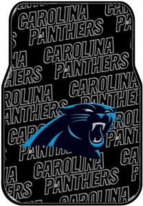 Northwest NFL Carolina Panthers Car Mats