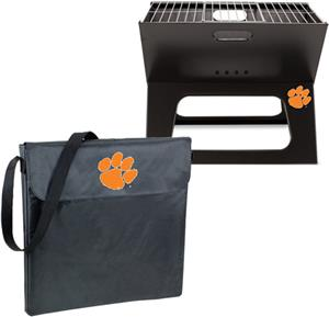 Picnic Time Clemson University Charcoal X-Grill