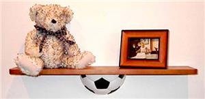 Laning Custom Design Soccer Trophy Shelf