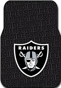Northwest NFL Oakland Raiders Car Mats