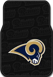 Northwest NFL St. Louis Rams Car Mats