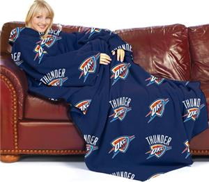 Northwest NBA OKC Thunder 46x71 Adult Comfy Throw
