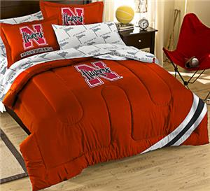 Northwest NCAA Nebraska Full Bed in Bag Set