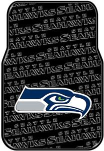 Northwest NFL Seahawks Car Mats (set of 2)