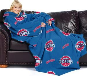 "Northwest NBA Detroit Pistons 46""x71"" Adult Throw"