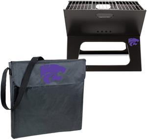 Picnic Time Kansas State Charcoal X-Grill w/ Tote