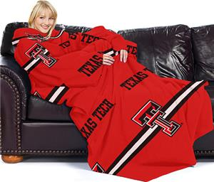 Northwest NCAA Texas Tech Comfy Throw (Stripes)