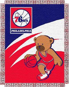 Northwest NBA Philadelphia 76ers 36x46 Baby Throw