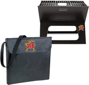 Picnic Time Maryland Terrapins Charcoal X-Grill