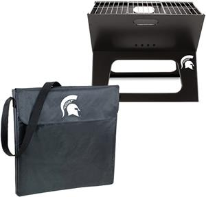 Picnic Time Michigan State Charcoal X-Grill
