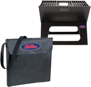 Picnic Time Mississippi Rebels Charcoal X-Grill