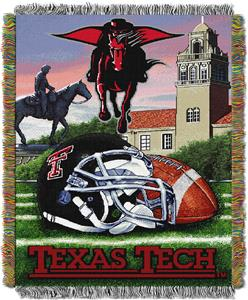 Northwest NCAA Texas Tech HFA Tapestry Throw