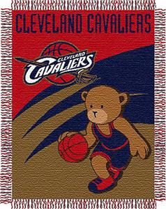 Northwest NBA Cleveland Cavaliers 36x46 Baby Throw