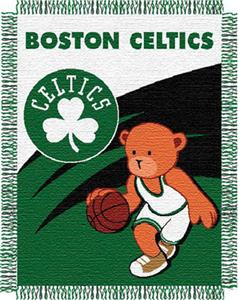 "Northwest NBA Boston Celtics 36""x46"" Baby Throw"