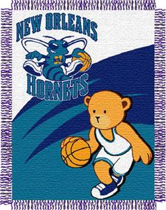 Northwest NBA New Orleans Hornets 36x46 Baby Throw