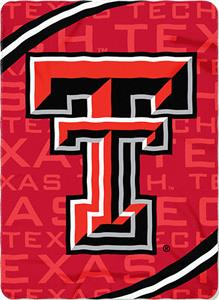 Northwest NCAA Texas Tech Fleece Force Throw