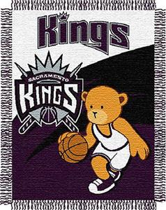 "Northwest NBA Sacramento Kings 36""x46"" Baby Throw"