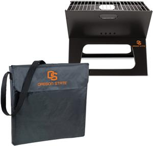 Picnic Time Oregon State Charcoal X-Grill &amp; Tote