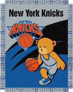"Northwest NBA New York Knicks 36""x46"" Baby Throw"