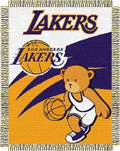 Northwest NBA LA Lakers 36&quot;x46&quot; Baby Throw
