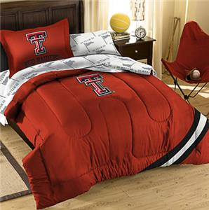 Northwest NCAA Texas Tech Univ Twin Bed in Bag Set