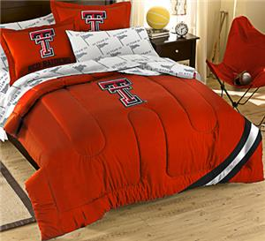 Northwest NCAA Texas Tech Univ Full Bed in Bag Set