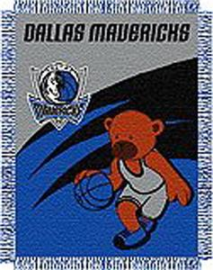 "Northwest NBA Dallas Mavericks 36""x46"" Baby Throw"