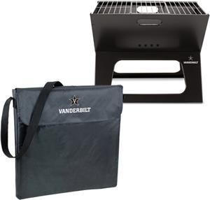 Picnic Time Vanderbilt University Charcoal X-Grill