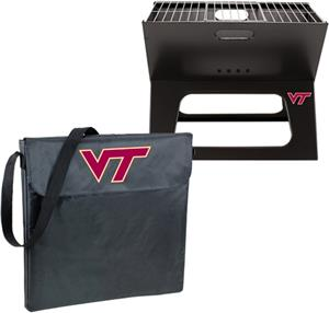 Picnic Time Virginia Tech Hokies Charcoal X-Grill