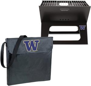 Picnic Time Washington Huskies Charcoal X-Grill