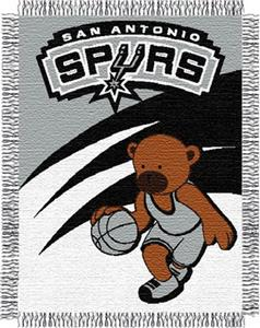 "Northwest NBA San Antonio Spurs 36""x46"" Baby Throw"
