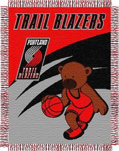 "Northwest NBA Portland Trail Blazers 36""x46"" Throw"