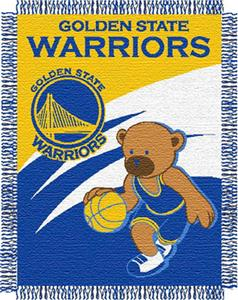 "Northwest NBA Golden State Warriors 36""x46"" Throw"
