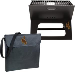 Picnic Time Wyoming Cowboys Charcoal X-Grill