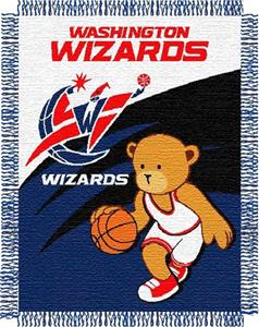 Northwest NBA Washington Wizards 36x46 Baby Throw