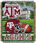 Northwest NCAA Texas A&M HFA Tapestry Throw