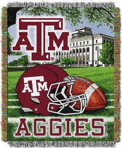 Northwest NCAA Texas A&M HFA Tapestry Throw